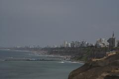Blick auf Lima Miraflores